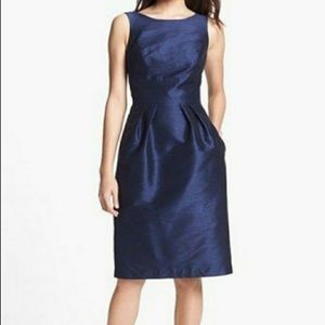 ALFRED SUNG MIDNIGHT DRESS NAVY BLUE SIZE 4